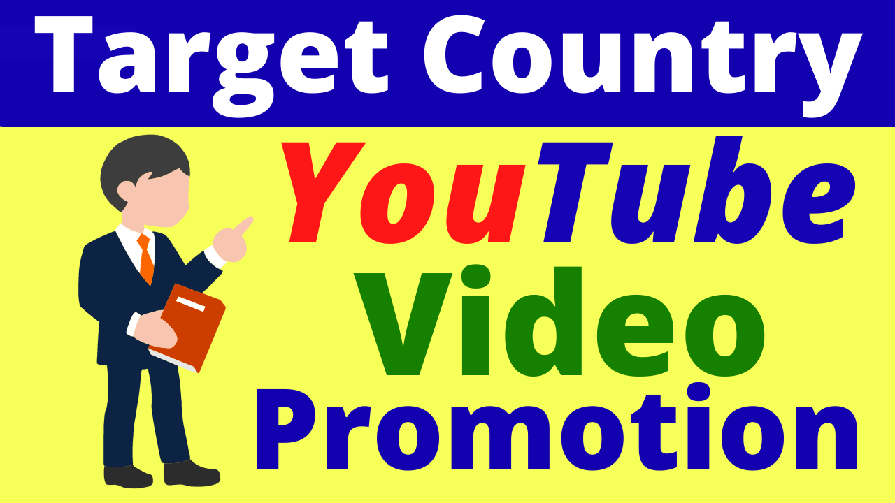 YouTube Video Promotion From USA And Targeted All Country Good Quality Service