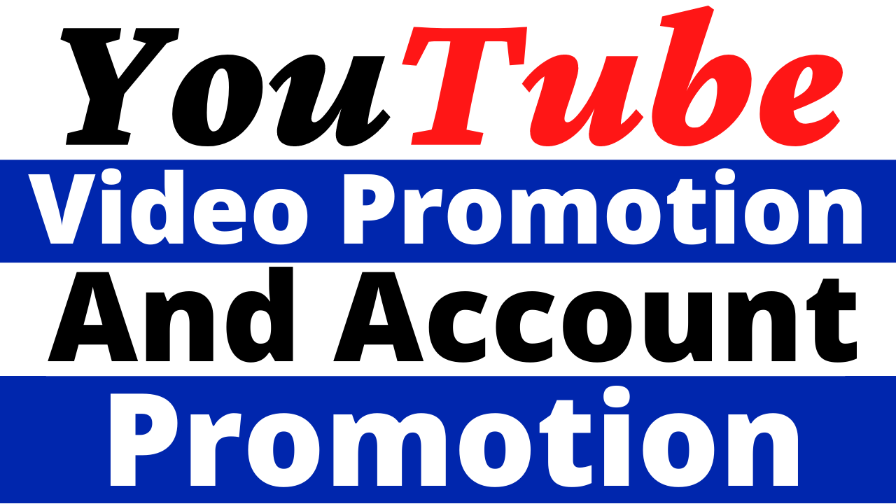 YouTube Video Promotion And Account Promotion Boost Your Video Ranking