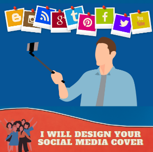 I will Design you awesome Facebook cover,  YouTube cover,  Twitter cover or others