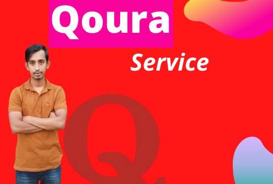 I will Provide 10 High Quality Qoura Answers