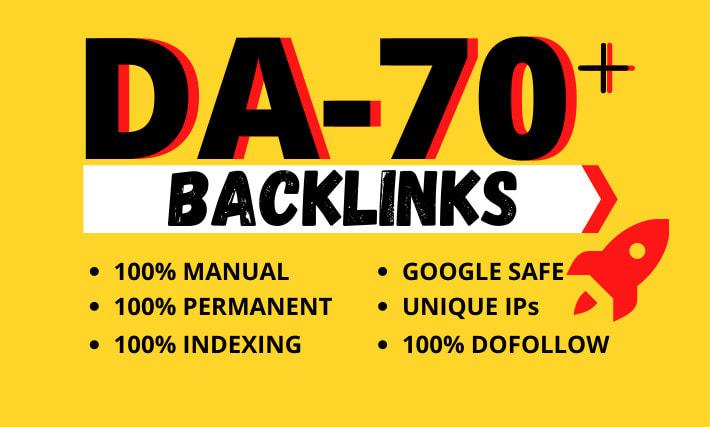create high authority pr9 contextual seo dofollow backlinks