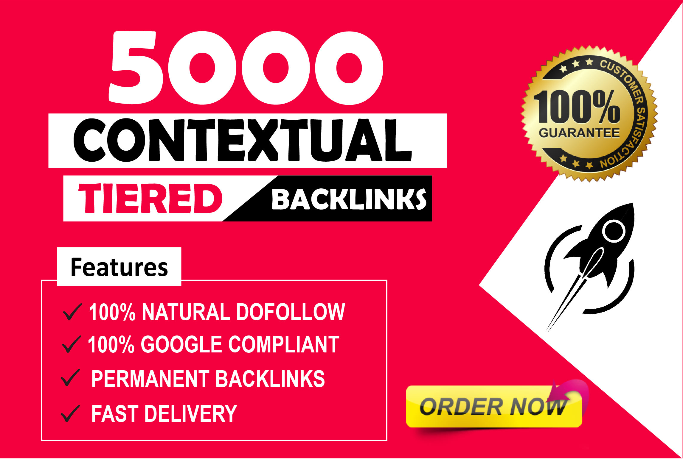 create 5000 contextual tiered dofollow backlinks for google ranking