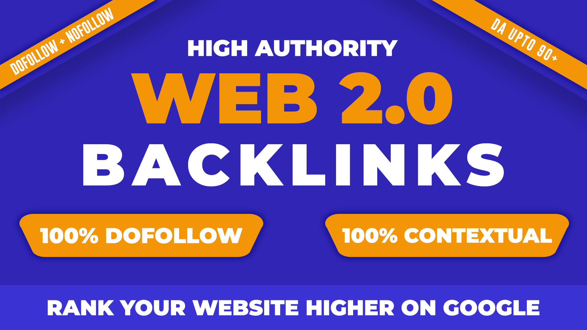 I will create 60 web 2.0 profile backlinks manually