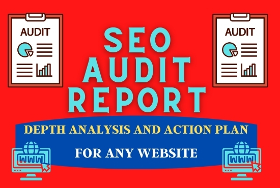I will provide an expert SEO Audit for any website