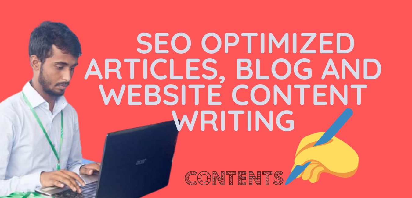 I will write SEO friendly content for website or any others
