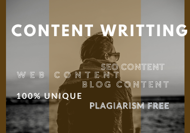 I will write SEO articles or website content