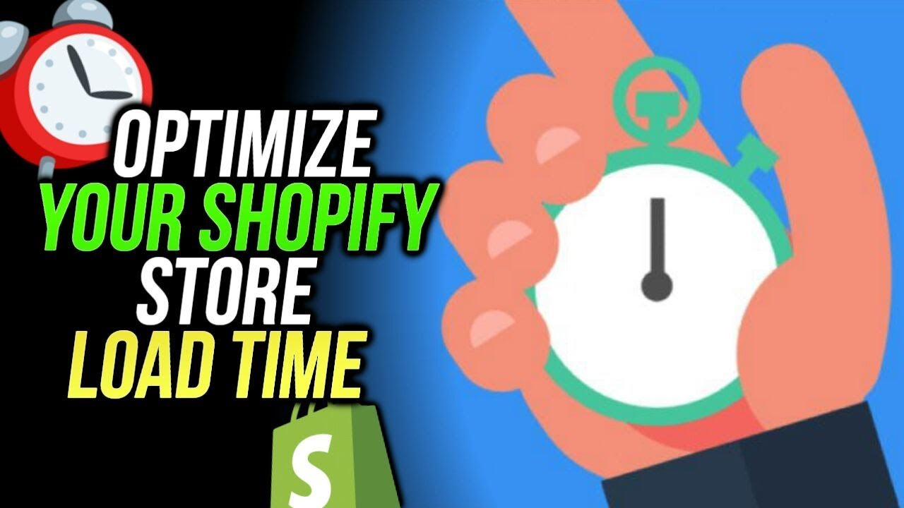 Shopify page speed optimization