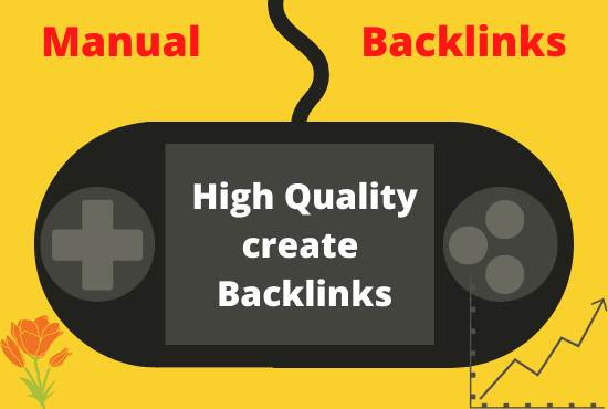 I will provide high quality manual backlinks
