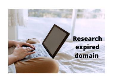 I will research high quality expired domain