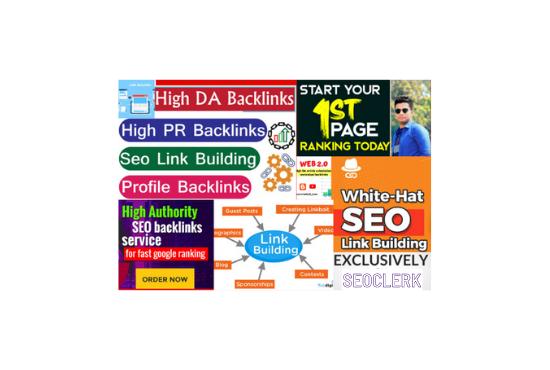 I will create contextual off page SEO backlinks on high DA