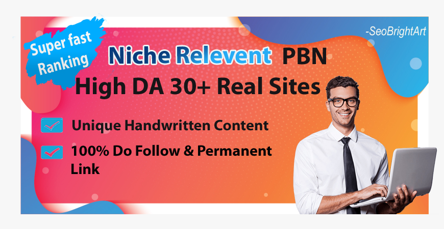 Niche relevant PBN - 10 Posts - DA30+ Super Fast Proven Ranking - Quality Sites