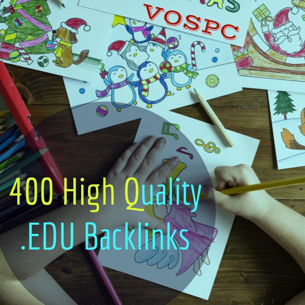I will do High Authority 1500 Edu Govt. 2021 update Backlinks