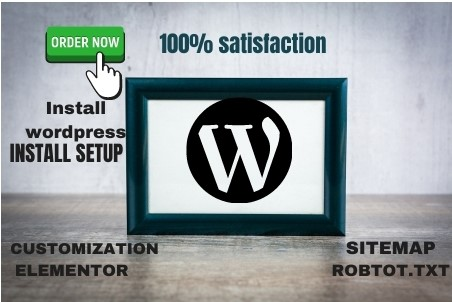 I will create and design a professional WordPress Website with premium theme on page optimization