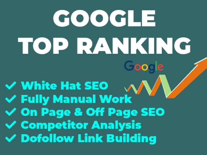 I will provide google top ranking expert SEO service 1 keyword