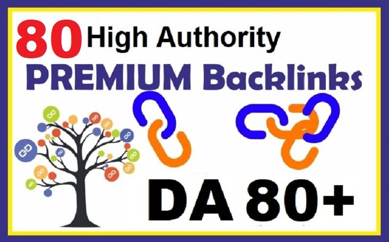 Manually Create 79 High Authority DA80+ Backlinks Boost Your Google Rank