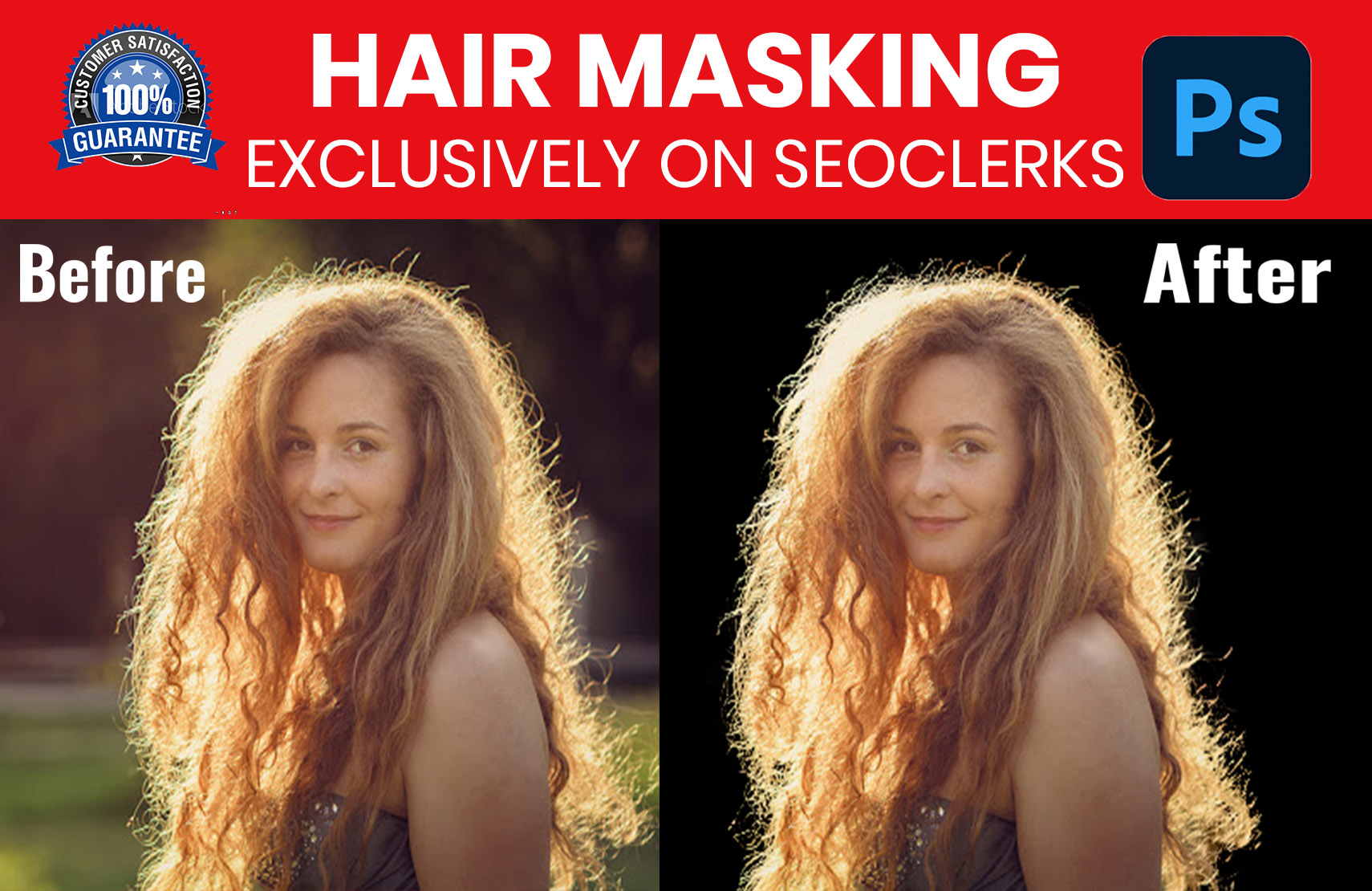 I can do image hair masking professionally with low price