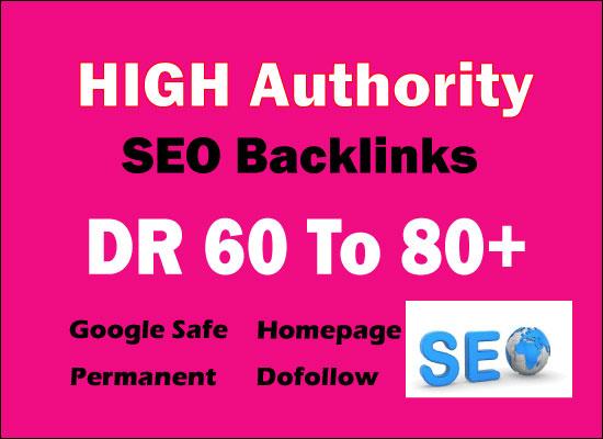 i will make 50 high dr 60 to 80 pbn backlinks for seo