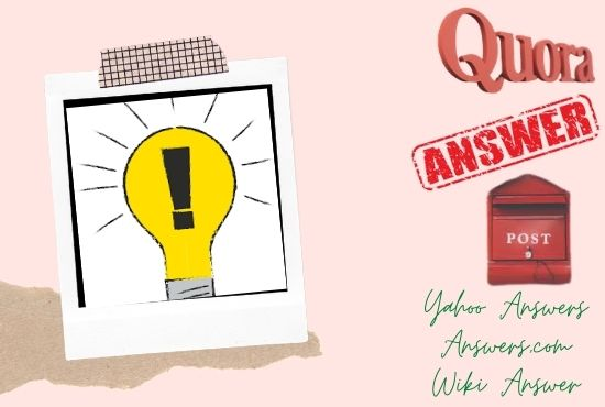 20 Best quality answer posting for your niche