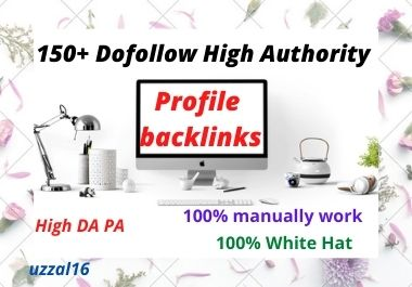 I Will Build Your High Authority Profile Backlinks