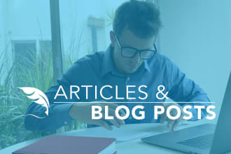 I will write SEO articles and blog posts