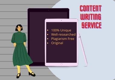 I will be your SEO friendly content writer- 500 words