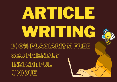 5 x 500 Words Premium SEO Friendly Article or Blog Post