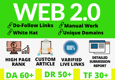 50 High Authority Web 2.0 Backlinks to Boost Your Site on Google Ranking