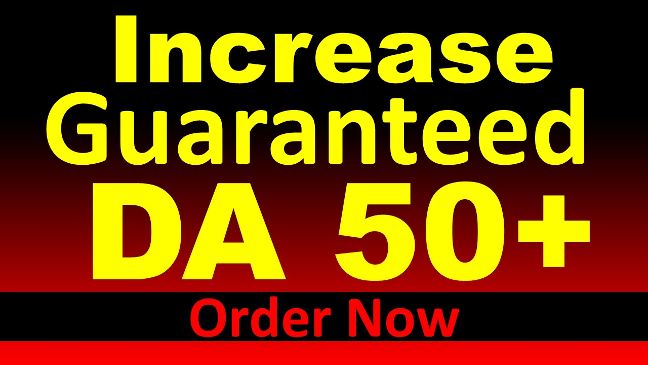 I will give you 30 high DA 50plus PBN dofollow backlinks top organic ranking for your site