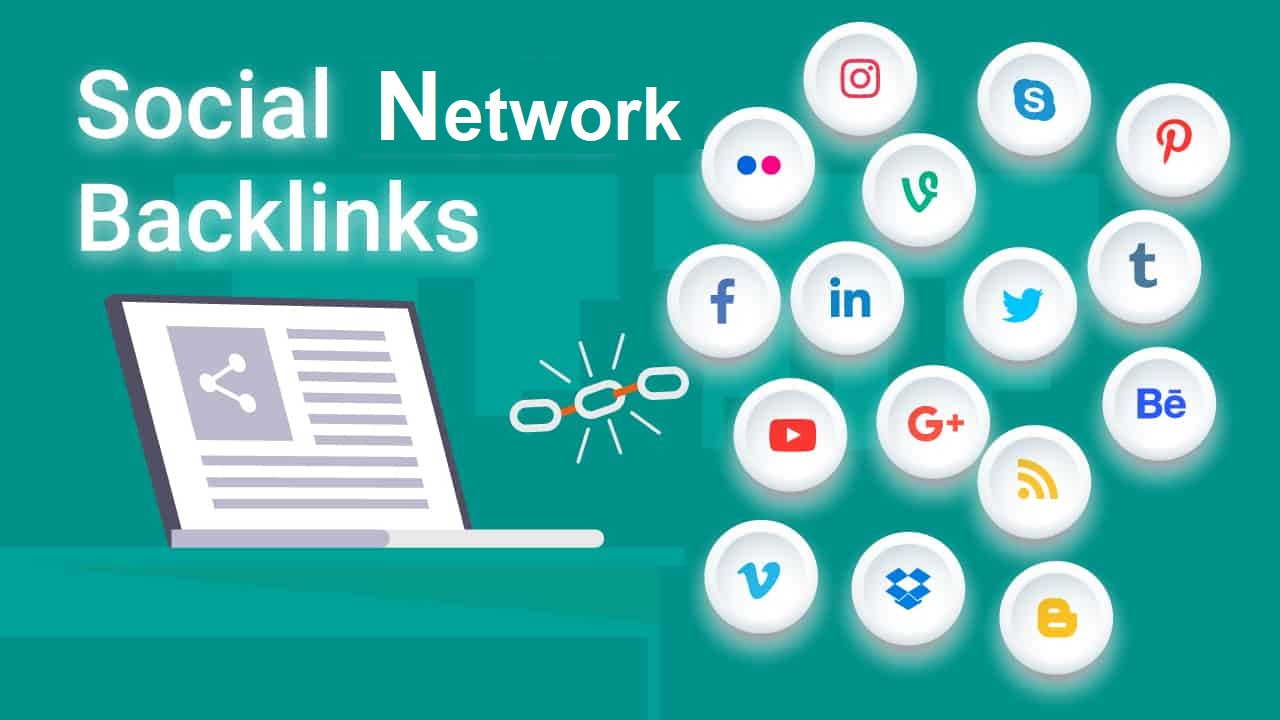 Create 90 Social Network SEO Backlinks