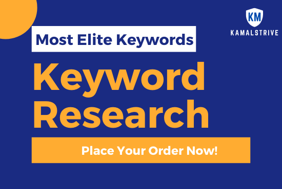 I will do SEO Keyword Research for AdSense Niche