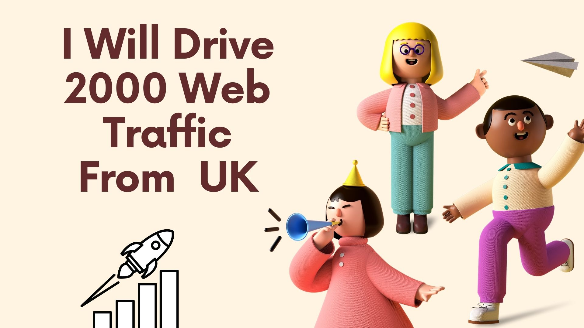 I Will Drive 2000 Web Traffic From UK