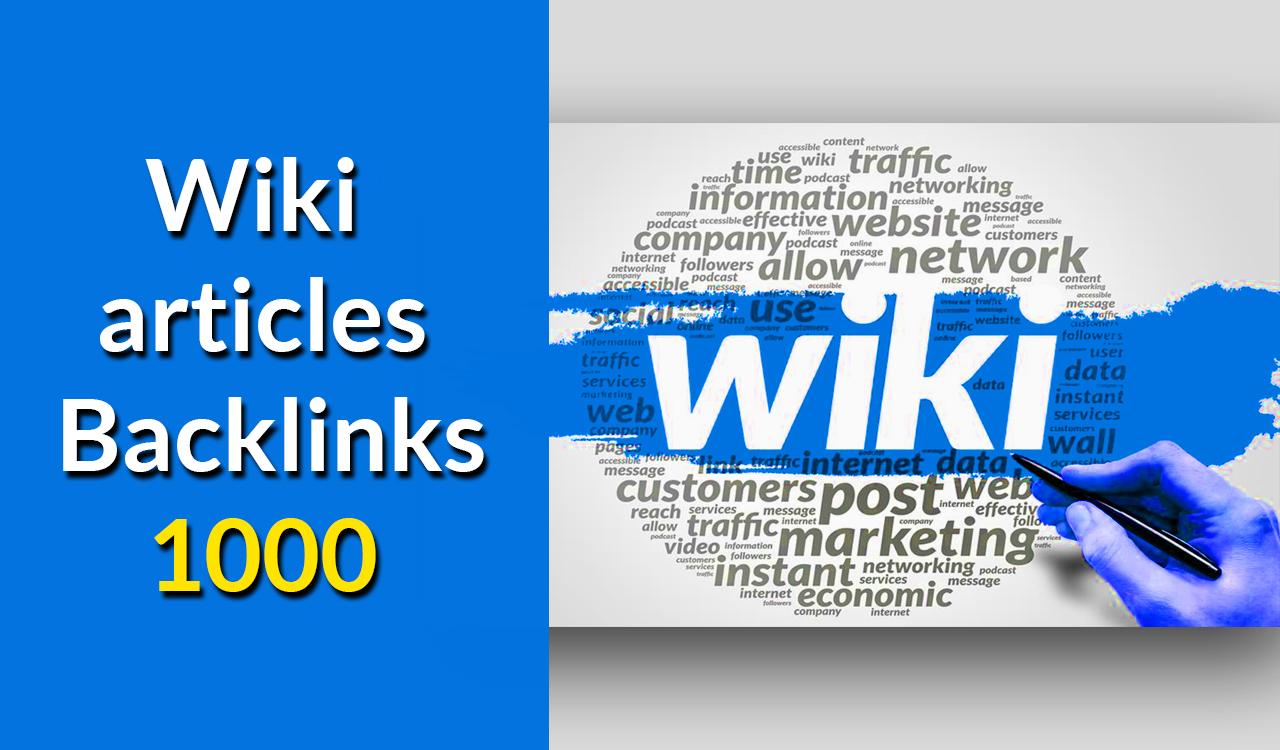 Unlimited Wiki 1,000 Articles from Wiki Backlinks