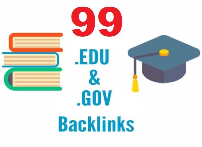 High Quality 99 Edu and Gov Redirect Backlinks