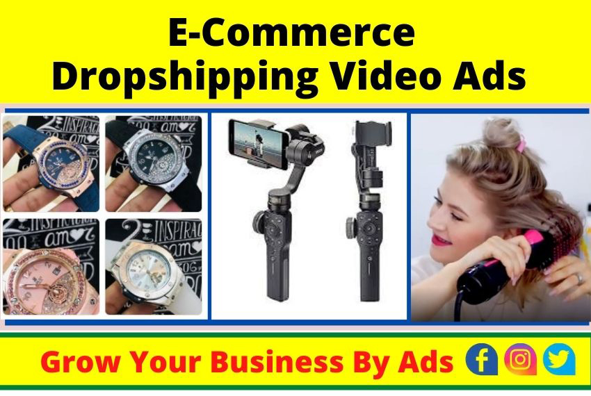 I will create Shopify Facebook video ads for drop shipping products