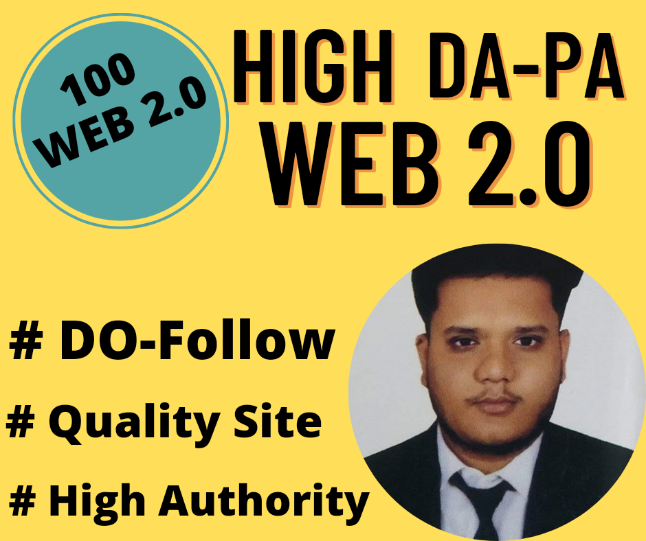 Provide 20+ High Authority Web 2.0 Backlinks