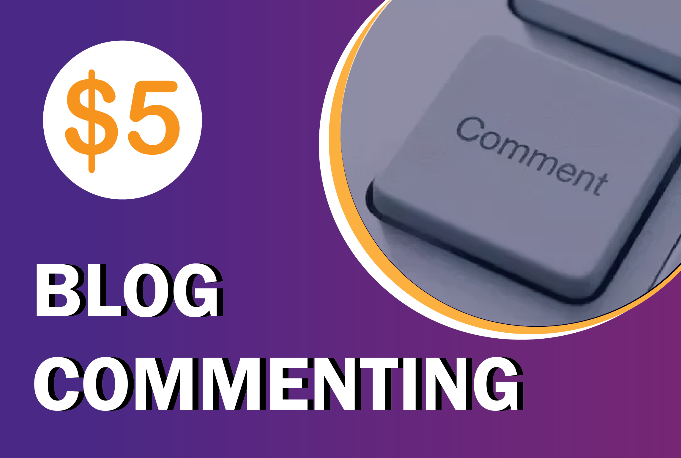 I will do 100 quality BLOG COMMENT