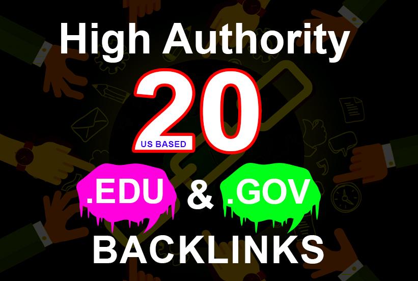 20 EDU/GOV High Authority Dofollow SEO Backlinks To Top DA 80 Premium Sites-Boost website Rank