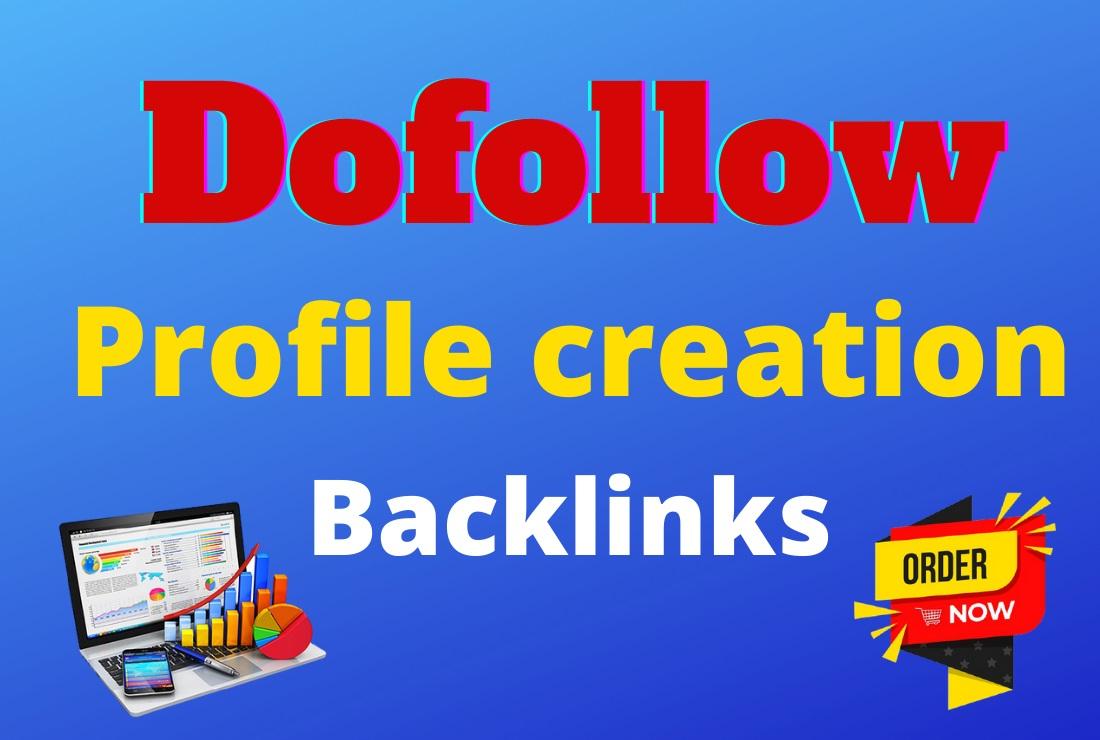 I Will Build Manually 50 High DA & PA Dofollow Profile Creation Backlinks