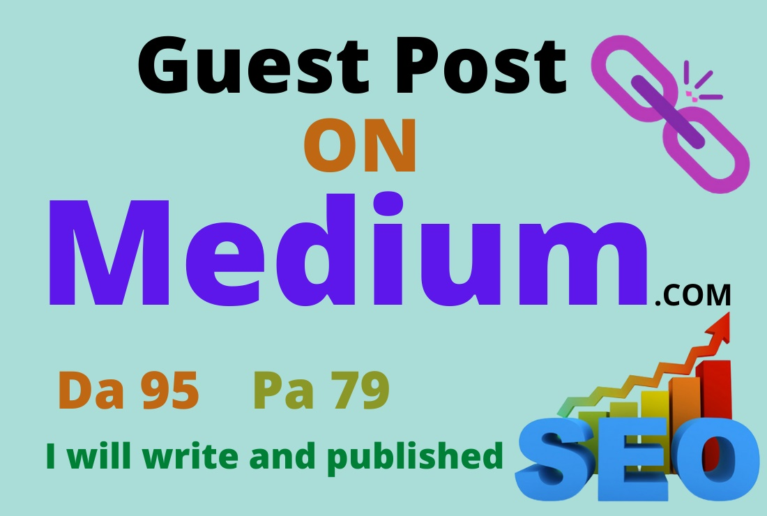 Write And Publish Guest Post On High DA Medium. com