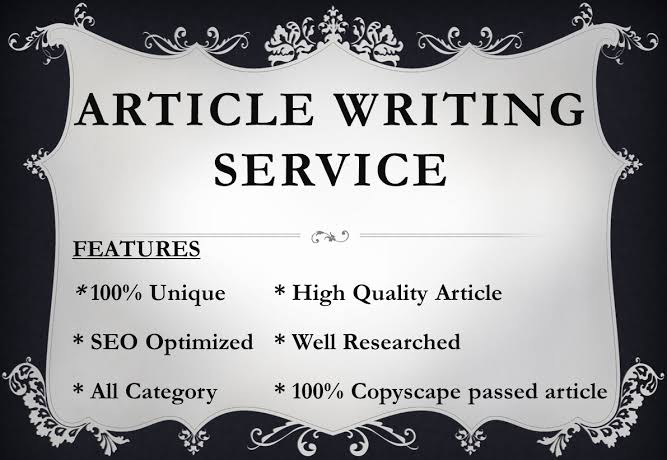 300 words unique article for your business and websites