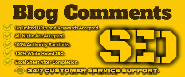I will create 30+ Dofollow Blog Comments Backlinks