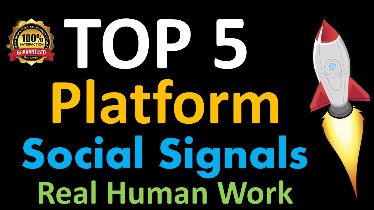 Mega Powerful 20,000 Social Signals for Top 5 Social Media Sites Get More Traffic to Your Website