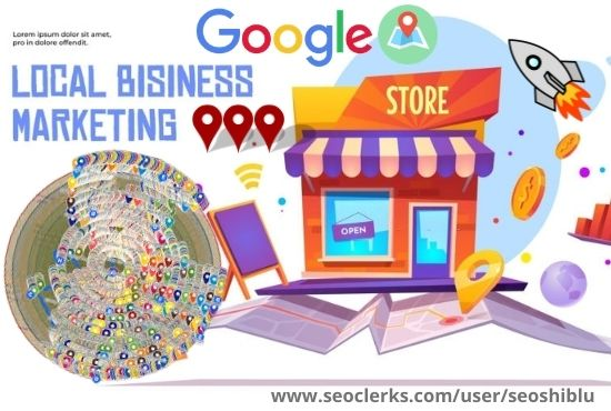 Create 150 google point map citation to rank your website in your local area