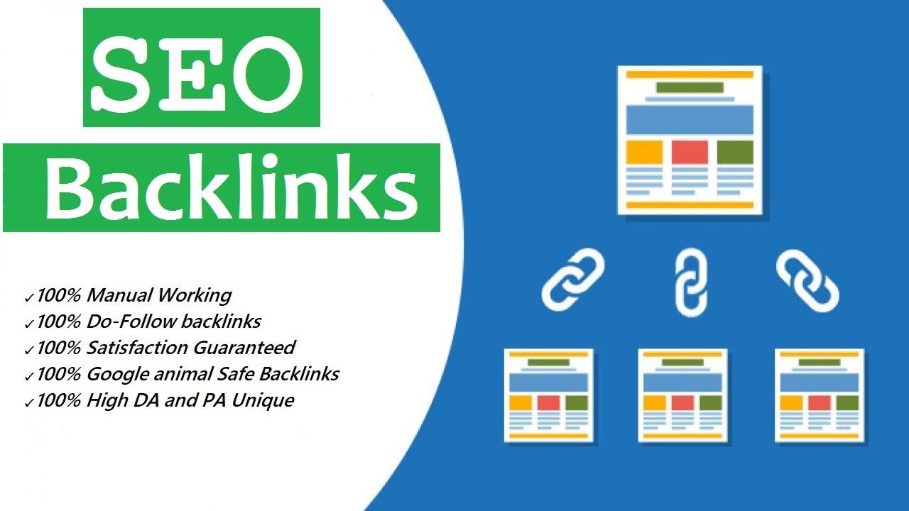 Get 360 manually build high authority dofollow seo backlinks