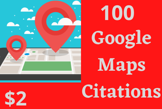 I will do 100 google point map citations for local SEO