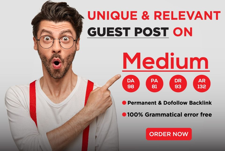 I will write and publish relevant and unique Guest post on Medium
