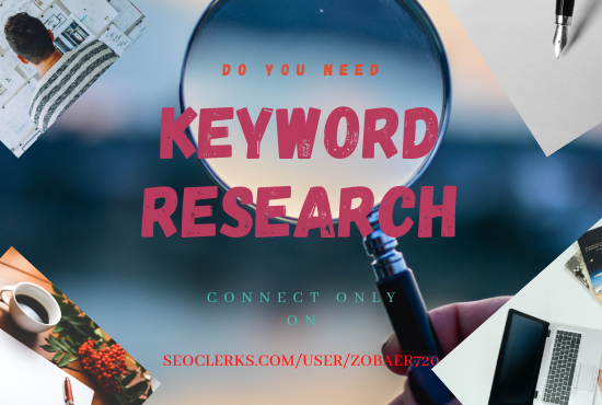 I will research keywords and competitor analysis for you