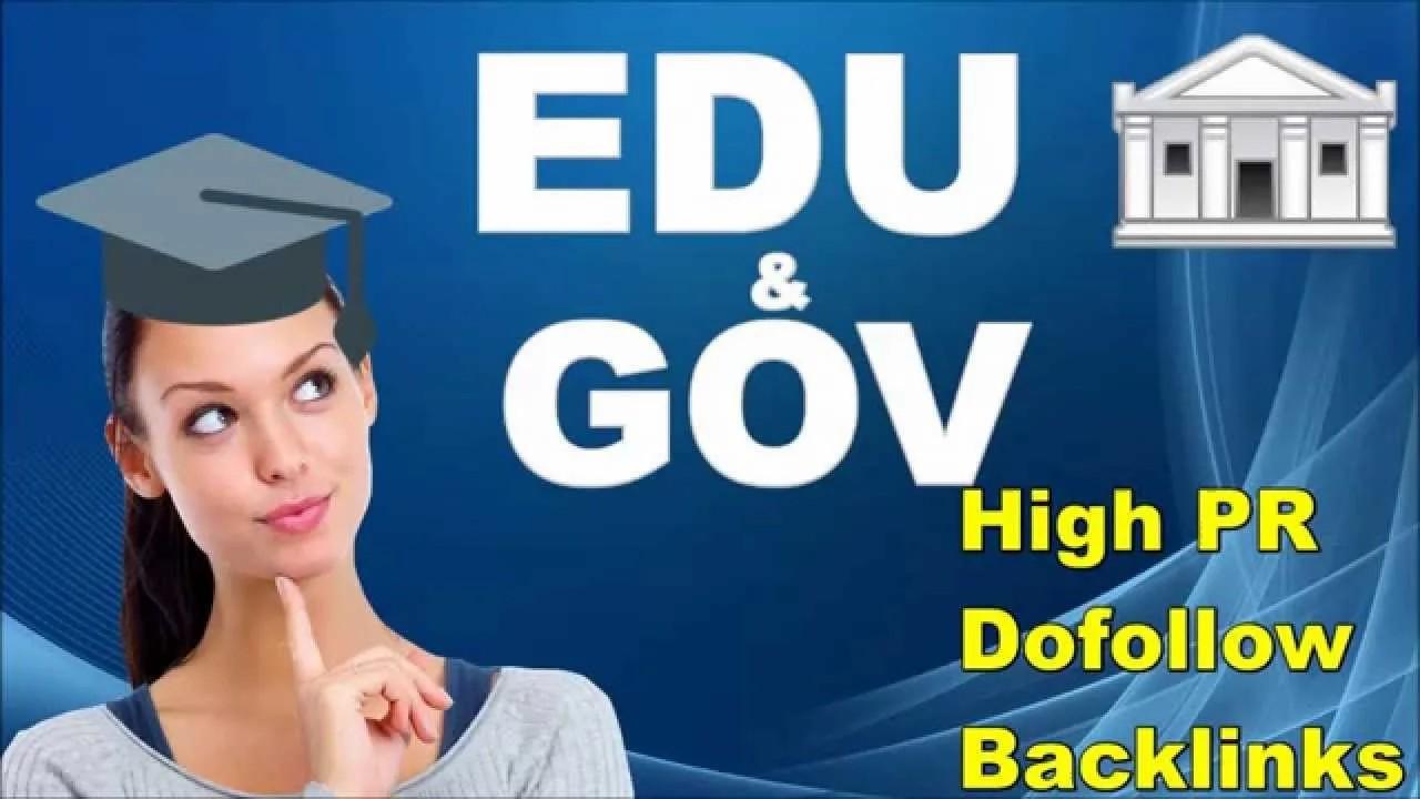 Create Manually do 40 PR9 + 100 EDU/GOV Safe SEO High Pr Backlinks 2020 Best Results