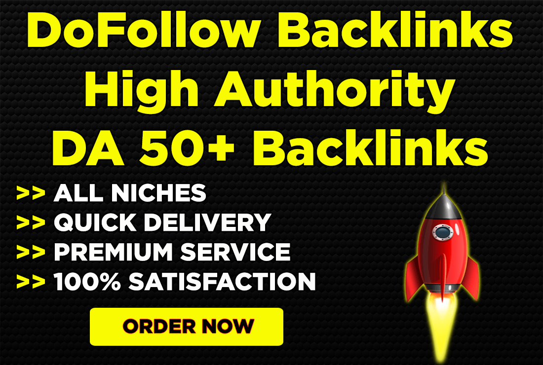 build high authority do follow backlinks