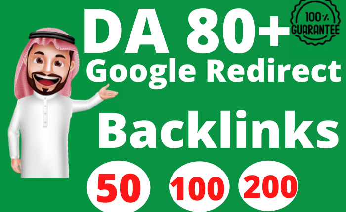 50 Google 301 Redirect SEO Dofollow Redirect Backlinks to Rank Website